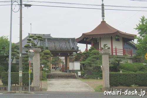 大仙山西福寺(愛知県刈谷市)入口・山門