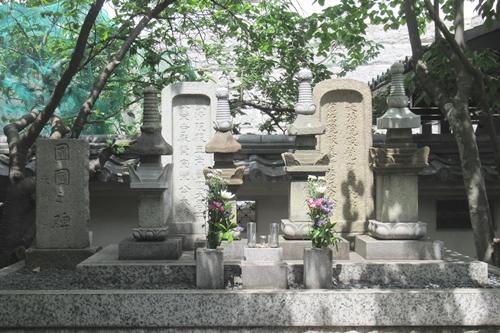 矢場地蔵清浄寺(名古屋市中区)牧家の墓