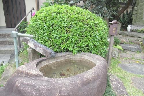 龍王山海上寺(名古屋市瑞穂区)手水鉢