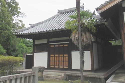 長母寺(名古屋市東区)開山堂