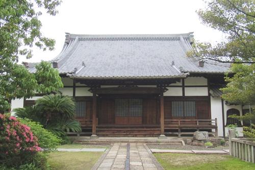 長母寺(名古屋市東区)本堂