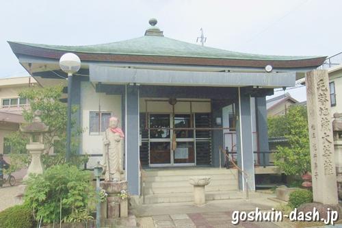 島田地蔵寺(名古屋市天白区)地蔵堂