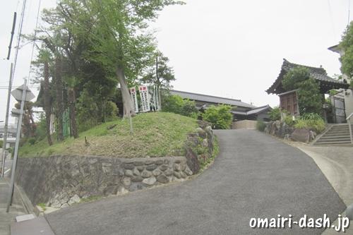 普照庵龍福寺(名古屋市昭和区)入口と山門