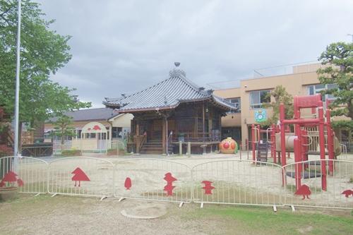 龍王山海上寺(名古屋市瑞穂区)本堂・ちばな保育園