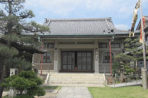 金龍山芳珠寺(名古屋市千種区)本堂