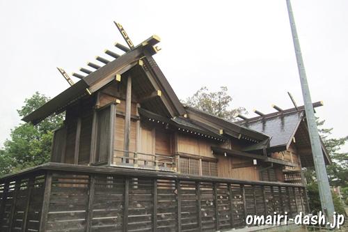 一ツ木神明社(愛知県刈谷市)本殿幣殿