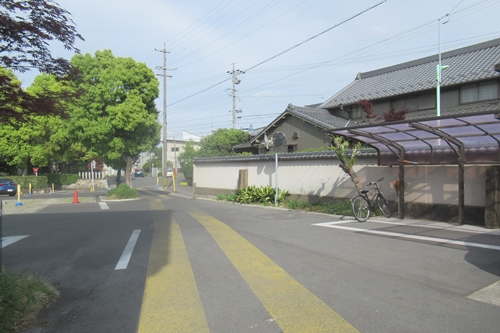 島田地蔵寺(名古屋市天白区)駐車場