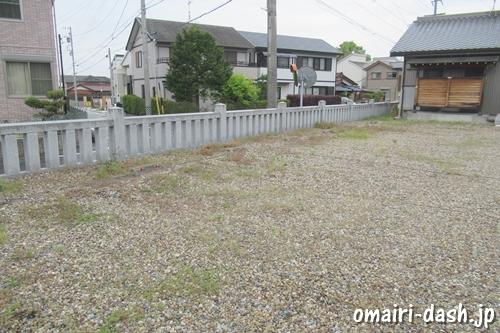 一ツ木神明社(愛知県刈谷市)駐車場