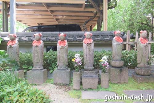 矢場地蔵(清浄寺・名古屋市中区)六地蔵