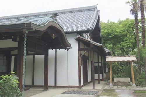 長母寺(名古屋市東区)庫裏(国登録文化財)
