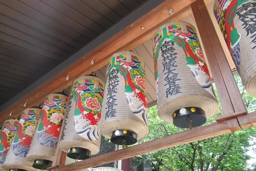 矢場地蔵清浄寺(名古屋市中区)提灯(南無地蔵大菩薩)
