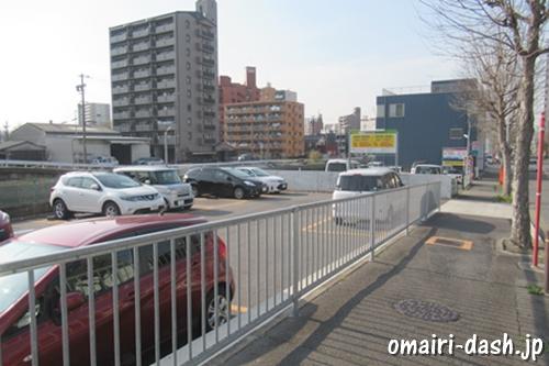 住吉社(名古屋市熱田区)近くの駐車場(コインパーキング)
