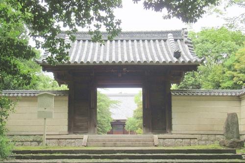 長母寺(名古屋市東区)山門