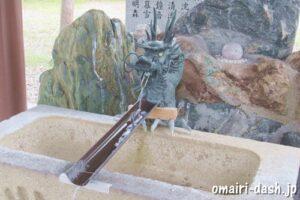 一ツ木神明社(愛知県刈谷市)手水舎