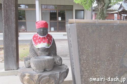 天目山密蔵院(愛知県刈谷市)手水舎(水かけ地蔵)