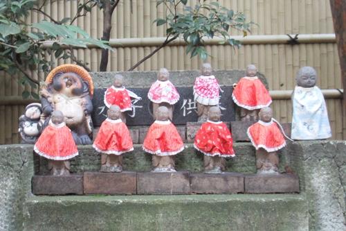 矢場地蔵清浄寺(名古屋市中区)水子地蔵