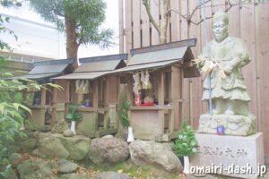 瑞穂山金龍寺(名古屋市瑞穂区)三笠山大神石像
