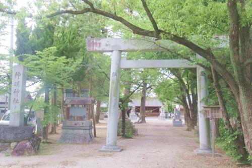 小垣江神明神社(愛知県刈谷市)二の鳥居