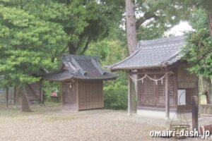 一ツ木神明社(愛知県刈谷市)境内社