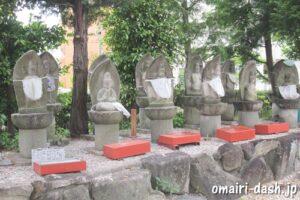 大仙山西福寺(愛知県刈谷市)西国三十三観音石仏