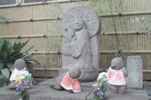 矢場地蔵清浄寺(名古屋市中区)子育て地蔵