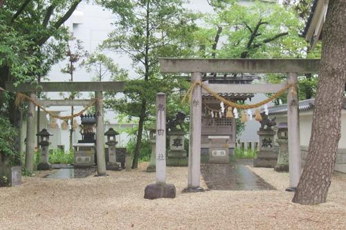 金刀比羅社(愛知県刈谷市)熱田社・伊勢神宮遥拝所