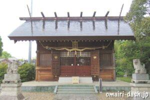 一ツ木神明社(愛知県刈谷市)拝殿