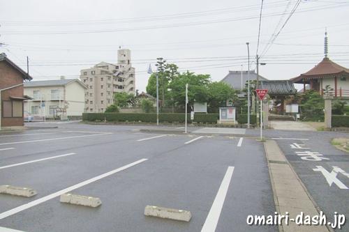 大仙山西福寺(愛知県刈谷市)駐車場