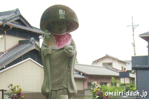 天目山密蔵院(愛知県刈谷市)修行大師像