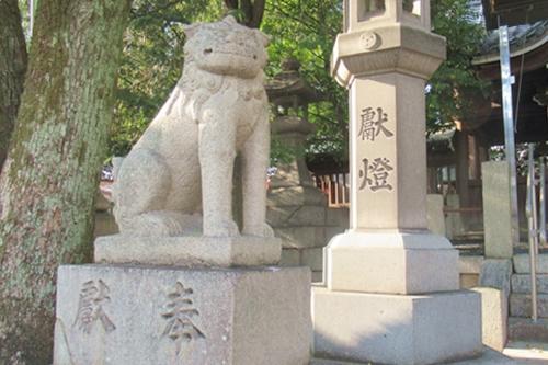 住吉社(名古屋市熱田区)狛犬