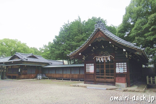 柏井八幡社(愛知県春日井市)拝殿・授与所