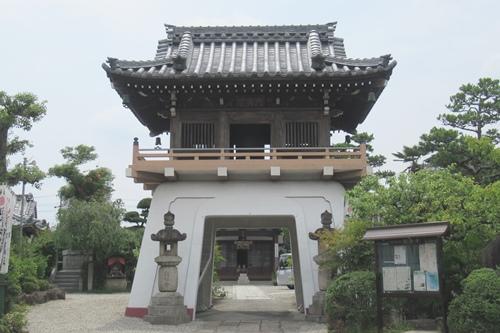総持寺(愛知県知立市)山門
