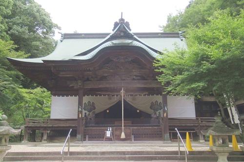 内々神社(愛知県春日井市)拝殿