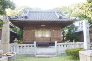 本刈谷神社(愛知県刈谷市)明治川神社・神明社