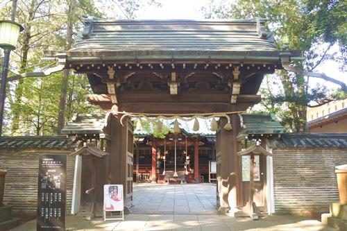 赤坂氷川神社(東京都港区)楼門