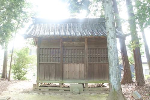 糟目春日神社(愛知県豊田市)旧社殿