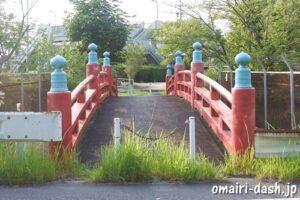 糟目春日神社(愛知県豊田市)神橋