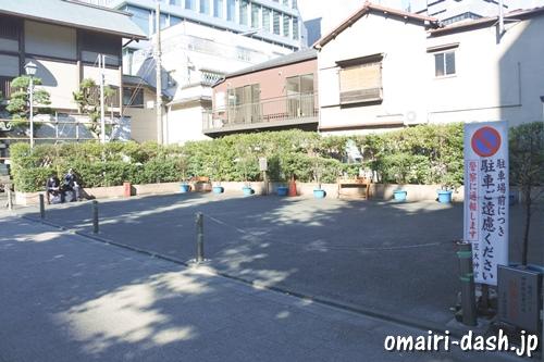 芝大神宮(東京都港区)駐車場