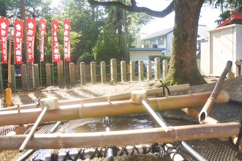 鴨田天満宮(愛知県岡崎市)手水舎