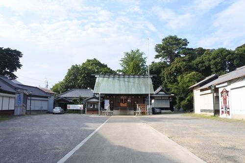 能見神明宮(愛知県岡崎市)境内全景