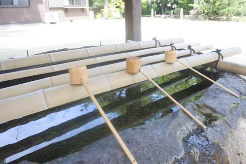 築地神社(名古屋市港区)手水舎