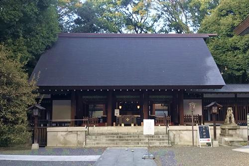 乃木神社(東京都港区)拝殿