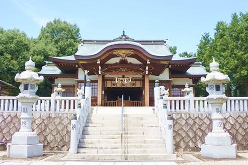 伊勝八幡宮(名古屋市昭和区)拝殿