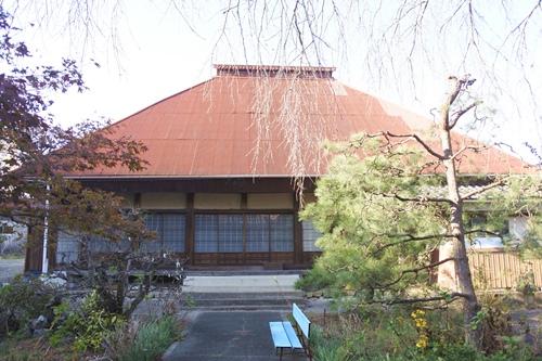 三明寺(豊川市)本堂
