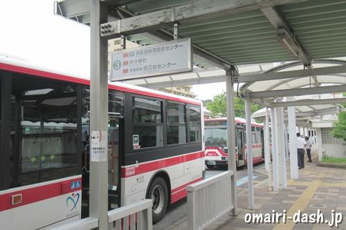 高蔵寺駅北口バス乗り場(内々神社行き)