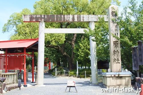 川原神社(名古屋市昭和区)鳥居