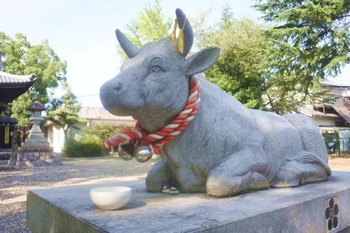 鴨田天満宮(愛知県岡崎市)神牛