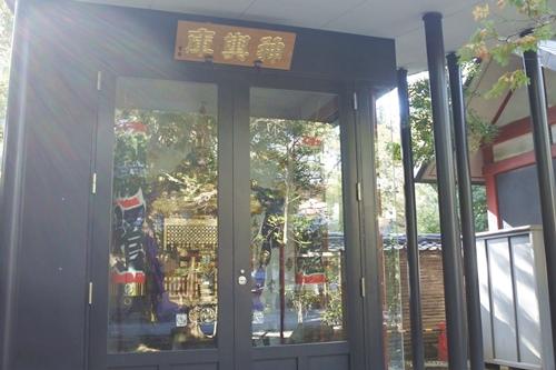 赤坂氷川神社(東京都港区)宮神輿庫