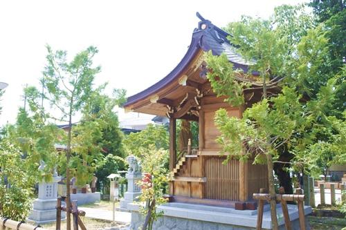 伊勝八幡宮(名古屋市昭和区)伊副神社社殿