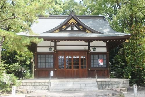 築地神社(名古屋市港区)拝殿